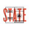jjjjpeg — Dribbble - State of the State 2 by Nick Brue