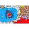 Artistic planetary maps: colourful images of our solar system - Telegraph