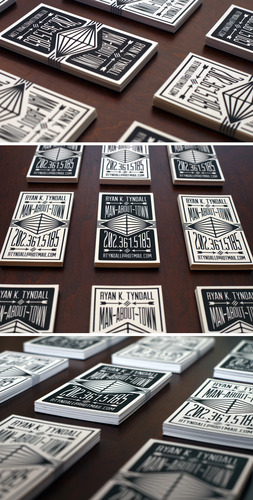 Letterpress Calling Cards - Business Cards - Creattica