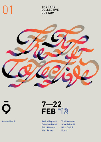The Type Collective • Hello people, the Type Collective proudly invites…